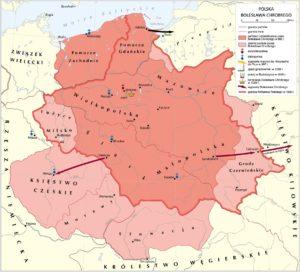 Polska za Bolesława Chrobrego