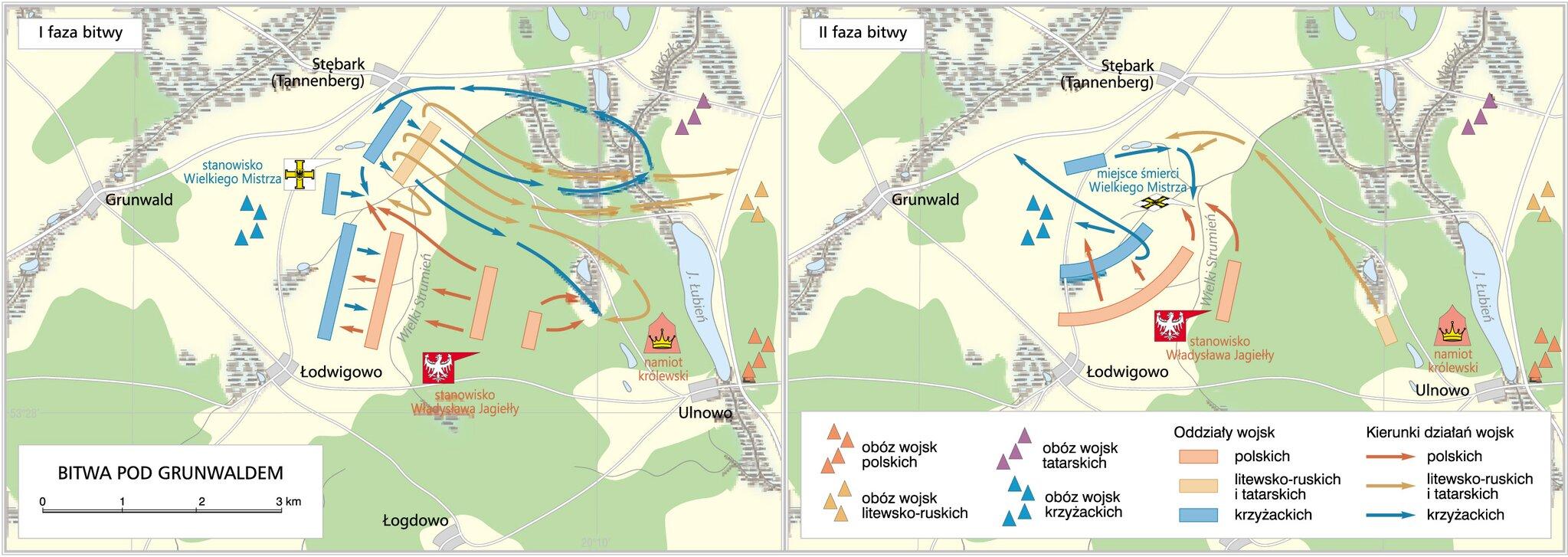 Bitwa pod Grunwaldem 1410r.
