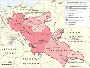 Polska za Kazimierza Wielkiego